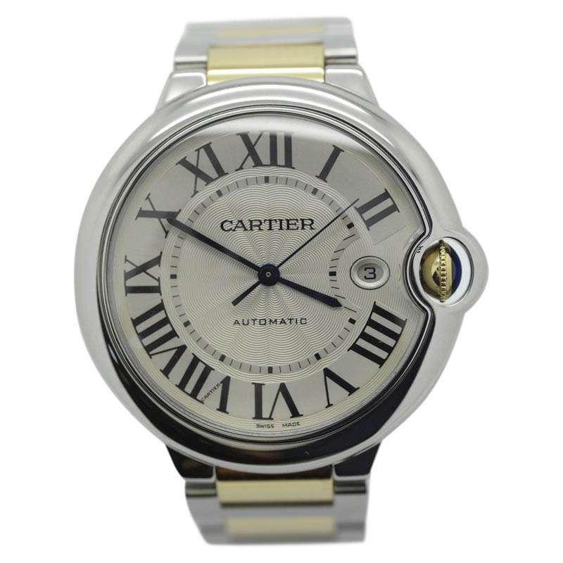 "Image of ""Carier Ballon Bleu W69009Z3 18K Yellow Gold & Stainless Steel"""