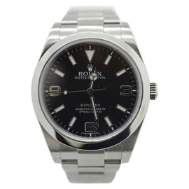 Rolex Explorer 214270 Black Dial Stainless Steel Automatic 39mm Mens Watch