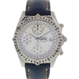 Breitling Chronomat Longitude A20048 Stainless Steel Automatic 38mm Mens Watch