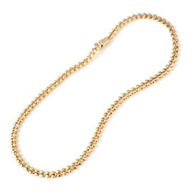 Vintage Tiffany & Co. 18k Yellow Gold San Marco Hinged Necklace