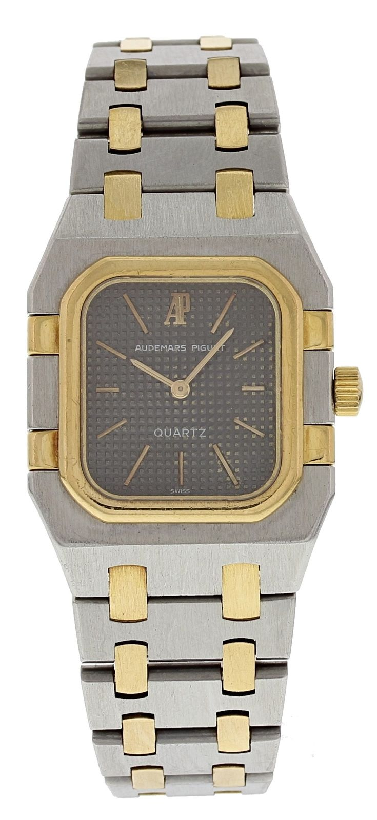 "Image of ""Audemars Piguet Royal Oak 18K Yellow Gold and Stainless Steel Quartz"""
