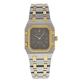 Audemars Piguet Royal Oak 18K Yellow Gold and Stainless Steel Quartz Vintage 24.5mm Womens Watch