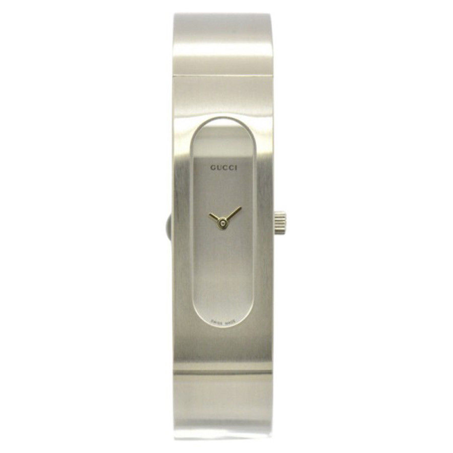 """Image of """"Gucci 2400S Stainless Steel Silver Dial Quartz 14mm Women's Watch"""""""