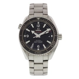 Omega Seamaster Planet Ocean Stainless Steel Automatic 42mm Mens Watch