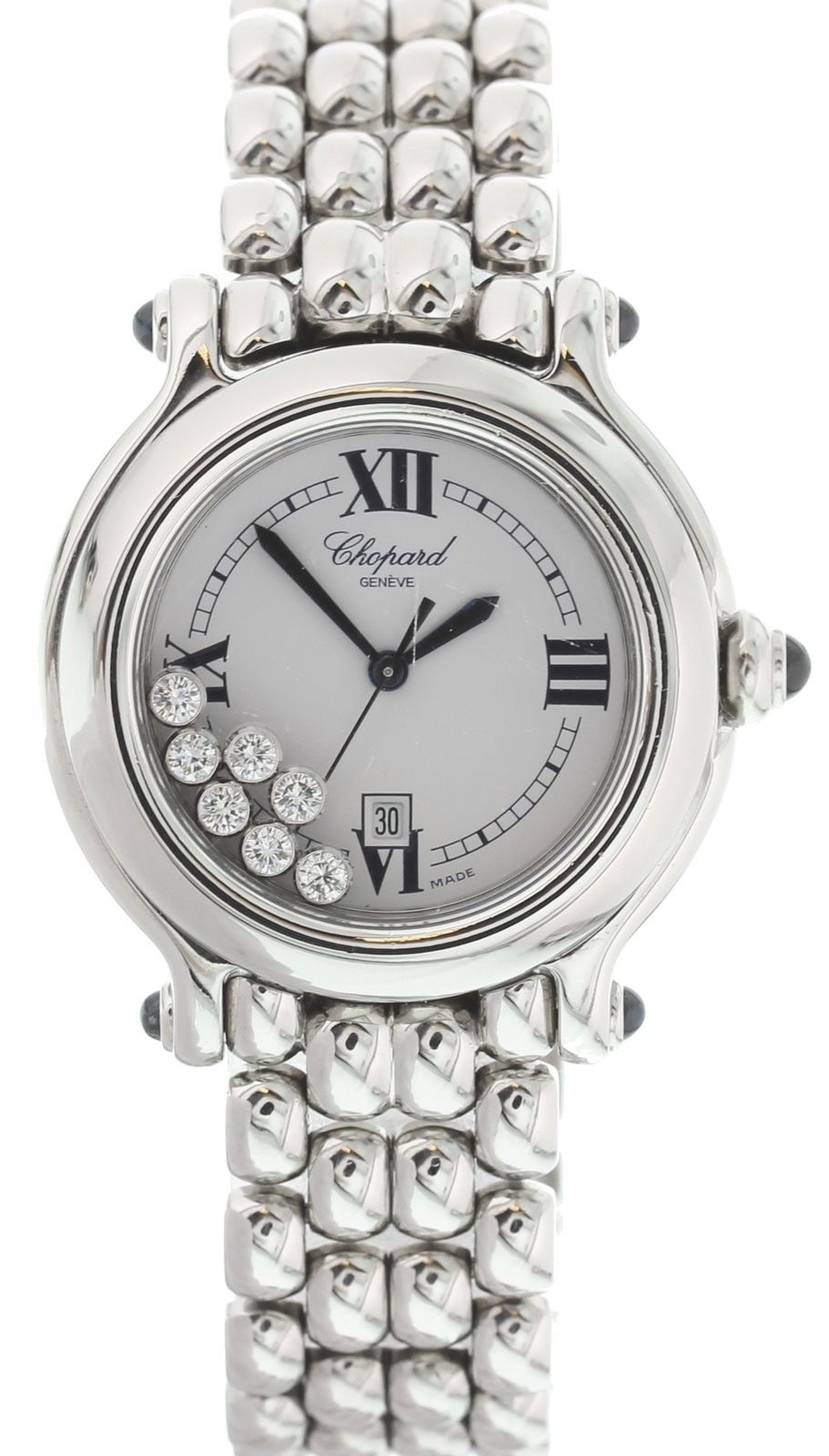 """Image of """"Chopard Happy Sport 8236 Stainless Steel with Floating Diamonds Dial"""""""