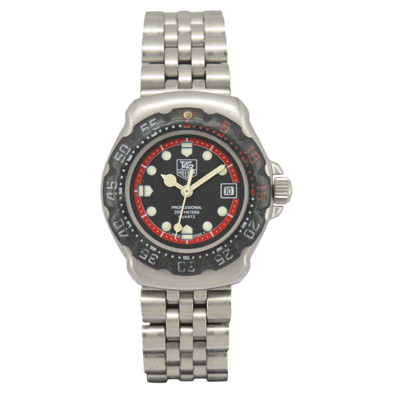 "Image of ""Tag Heuer Formula1 374.508 Stainless Steel Quartz 28mm Womens Watch"""