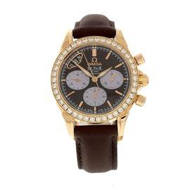 Omega Deville 422.58.35.50.13.001 18K Rose Gold & Satin Automatic 38mm Unisex Watch