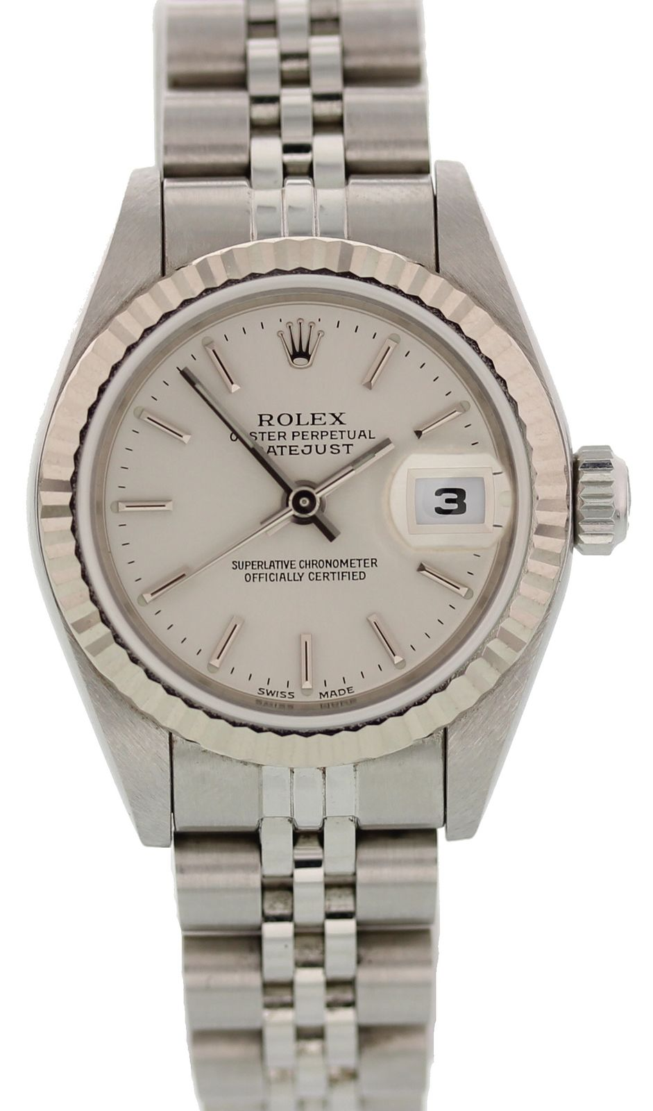 """Image of """"Rolex Datejust 79174 Stainless Steel Automatic 26mm Womens Watch"""""""