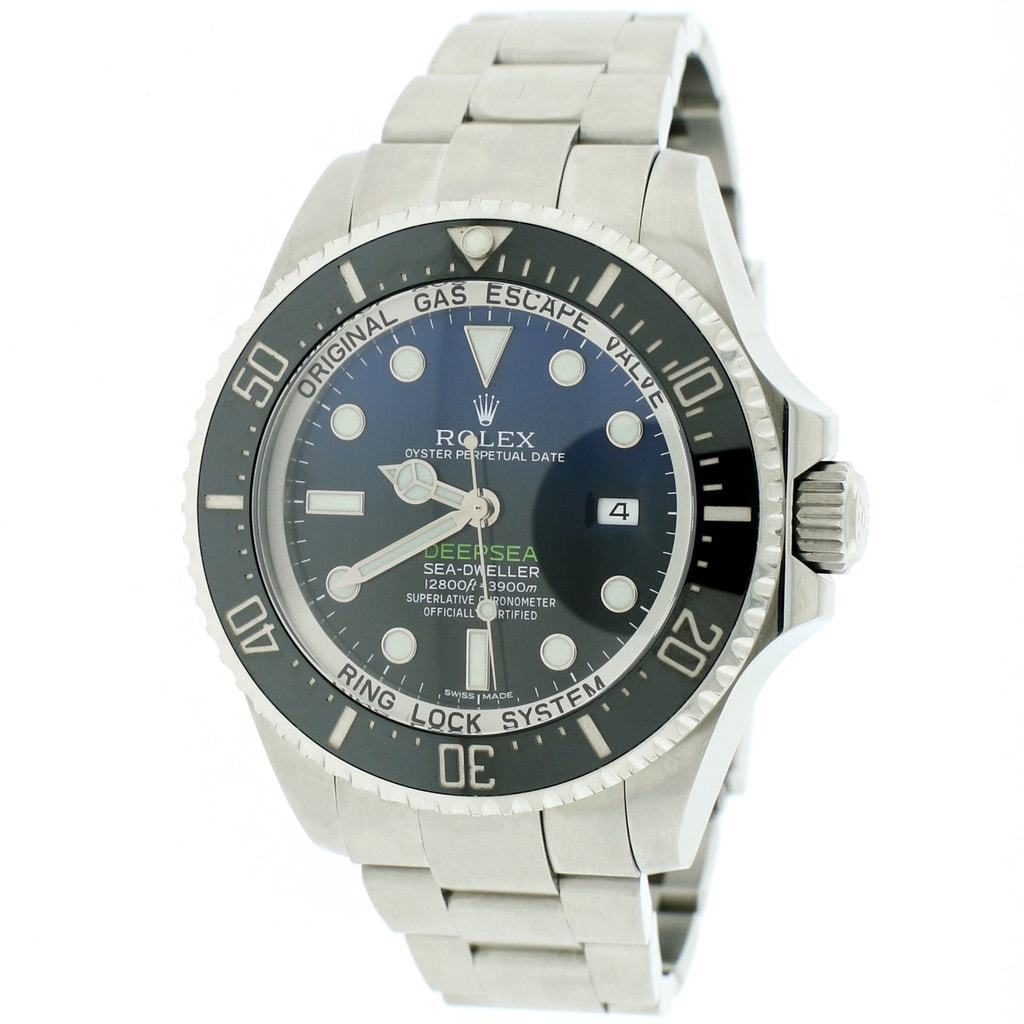 "Image of ""Rolex Deepsea Sea-Dweller 116660 Stainless Steel & Blue Dial 44mm Mens"""