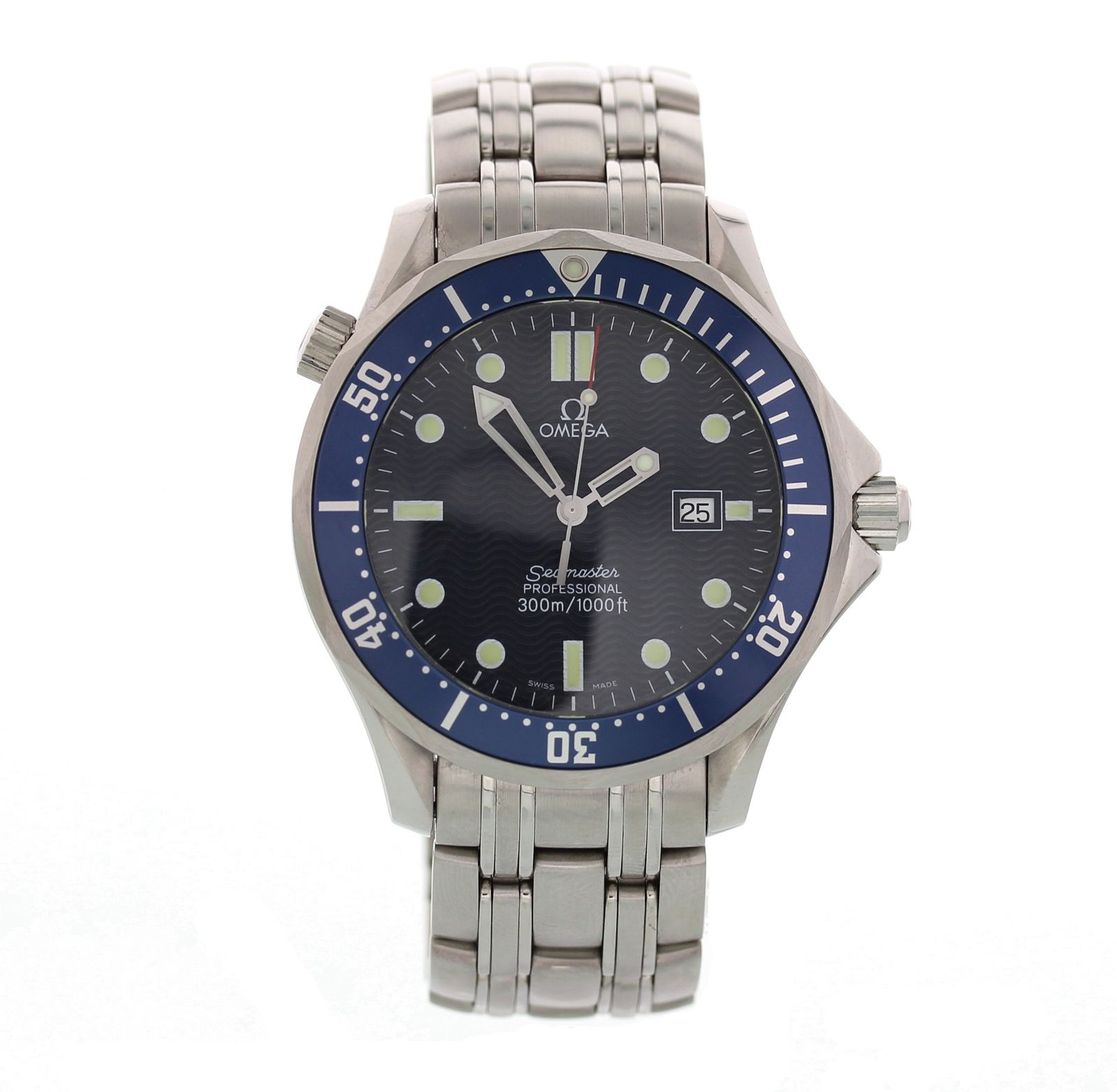"Image of ""Omega Seamaster 168.1523 Stainless Steel Automatic 41mm Mens Watch"""