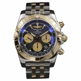 Breitling Chronomat CB011012/B968/375C Rose Gold & Stainless Steel Automatic 44mm Mens Watch