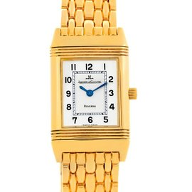 Jaeger LeCoultre Q2611110 Reverso Lady 18K Yellow Gold Watch