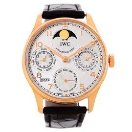 IWC Portuguese Perpetual IW502213 18K Rose Gold Calendar Watch