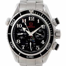 Omega 222.30.38.50.01.003 Seamaster Planet Ocean Olympic Watch