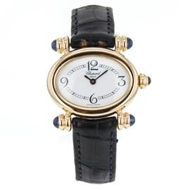 Chopard Classic Feminine Oval 30mm 18K Yellow Gold Watch