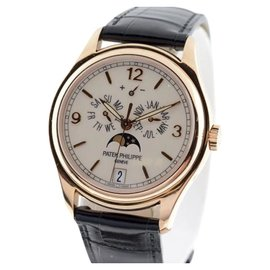 Patek Philippe Annual Calendar Moonphase 5146R 18K Rose Gold Mens Watch