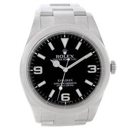 Rolex Explorer I Stainless Steel Watch 214270 39mm