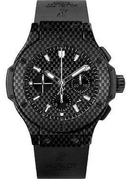 """Image of """"Hublot 301.qx.1724.rx Big Bang Black Carbon Fiber Watch"""""""