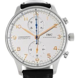 IWC Portuguese Chrono Automatic Stainless Steel Mens IW371445 Watch