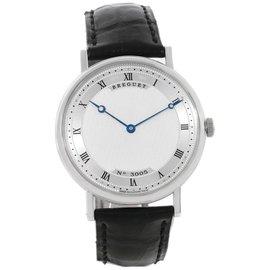Breguet Classique 5157 18K White Gold Automatic Ultra Thin Mens Watch