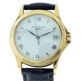 Patek Philippe Calatrava 5117J 18K Yellow Gold Automatic 37mm Watch