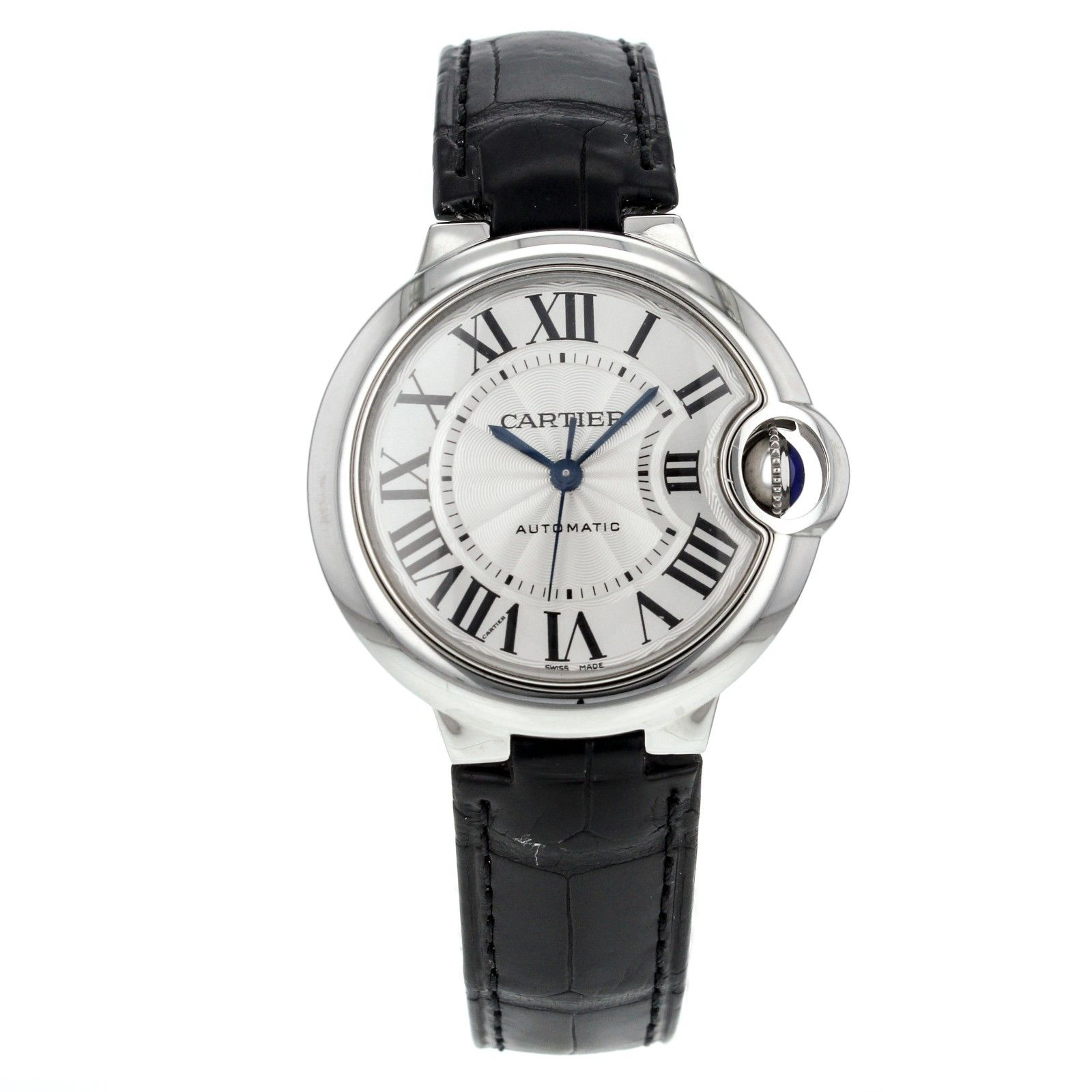 Cartier Ballon Bleu 33mm W6920085 Stainless Steel Watch