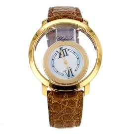 Chopard Happy Diamonds 20/7230 Happy Time 18k Yellow Gold Quartz Women's Watch