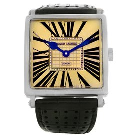 Roger Dubuis Golden Square 18K White Gold Watch