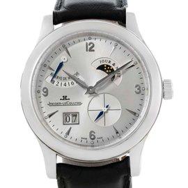 Jaeger Lecoultre Q1608420 Reserve De Marche 8 Days Steel Watch