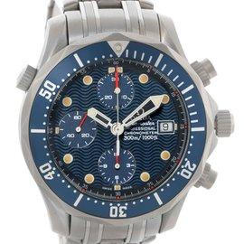 Omega 2298.80.00 Seamaster Chronograph Titanium Automatic Mens Watch
