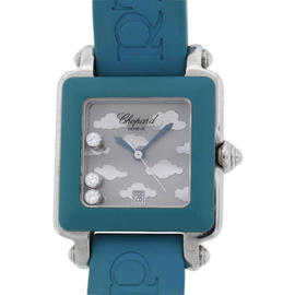 Chopard Floating Diamonds 27/8896 Happy Sport Square Watch