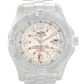 Breitling A17390 Aeromarine Superocean Steelfish Cream Dial Watch