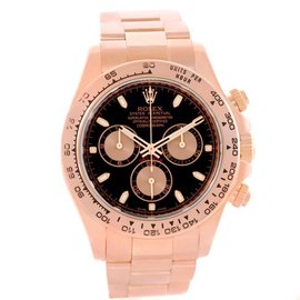 Rolex Daytona 116505 Cosmograph 18K Rose Gold Chronograph Watch