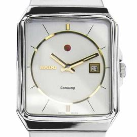 Rado Conway Stainless Steel Automatic Men's 80s Watch