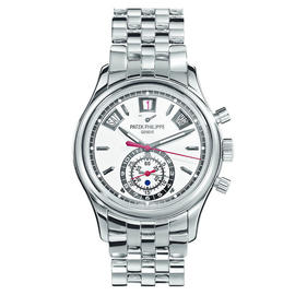 Patek Philippe Annual Calendar Chronograph Stainless Steel Mens Watch