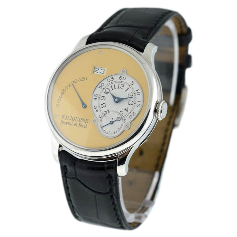 "Image of ""F.p. Journe Octa Reserve de Marche Platinum Automatic 38mm Mens Watch"""