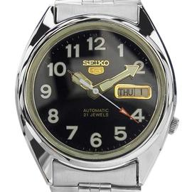 Seiko 5 Automatic Japanese Day Date Mens 1970 Watch