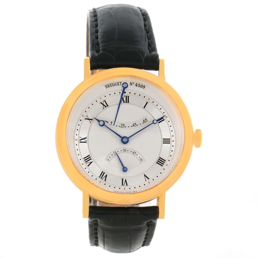 """""""""""Breguet Classique Retrograde Seconds 18K Yellow Gold Watch"""""""""""" 433318"""