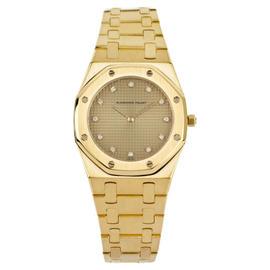 Audemars Piguet Royal Oak 6008.BA.484 18K Yellow Gold 30mm Womens Watch