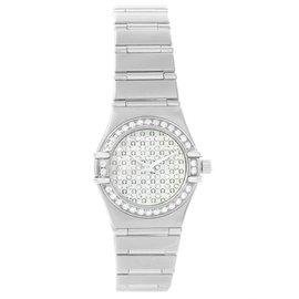 Omega Constellation 1455.77.00 Mini Diamond Steel Watch