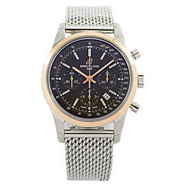Breitling Transocean Chronograph UB015212/Q594-154 18K Rose Gold 43mm Watch