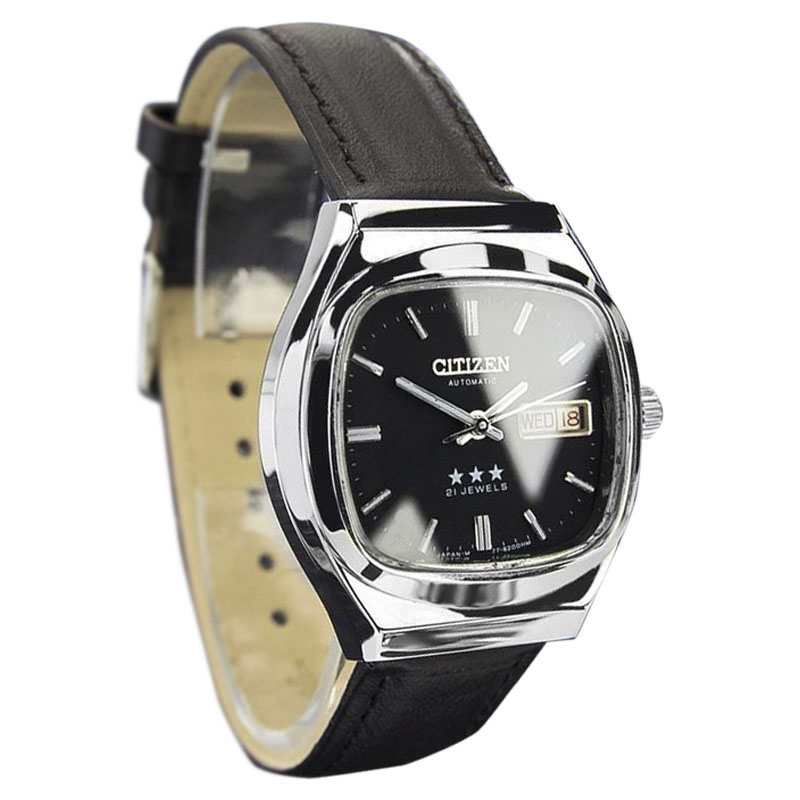 """Image of """"Citizen Stainless Steel Japanese Automatic Mens Circa 1970s Watch"""""""