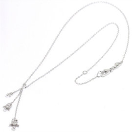 Ponte Vecchio 18K White Gold Diamond Necklace