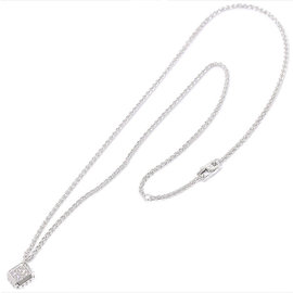 Louis Vuitton 18K White Gold & Diamond Emprise Necklace