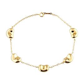 Tiffany & Co. 18K Yellow Gold Elsa Peretti Bean Bracelet