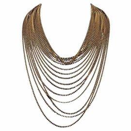 Cartier Draperie de Decollete 18K Yellow Gold Necklace