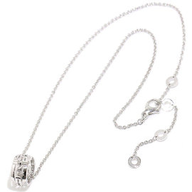 Bulgari 750 18K White Gold Parenteshi Necklace