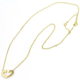 Cartier C Heart 750 Yellow Gold Necklace