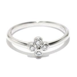 Tiffany & Co. PT950 Platinum Diamond Ring Size 6