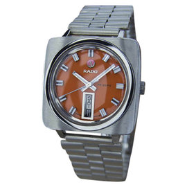 Rado Miami Stainless Steel Swiss Made Automatic Vintage Mens Watch Year: 1960